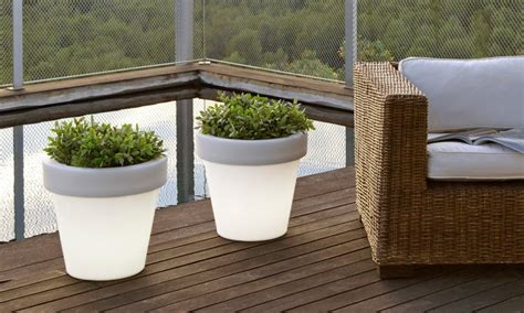 vasi da esterno illuminati vasi luminosi per esterno e interno groupon goods