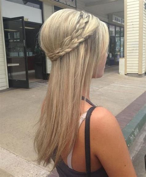 haircuts short overhears longer on crown long hairstyles with double braided crown long