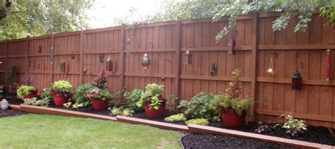 fencing options for backyard outdoor landscape backyard fence traditional
