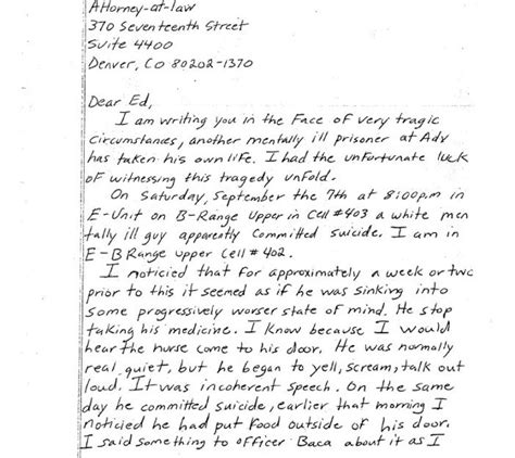 Letter To Husband In Prison by A Handwritten Letter The Prison System Doesn T Want You To