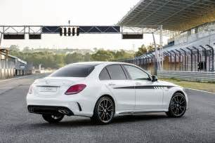 you can sharpen up your c class with these mercedes amg