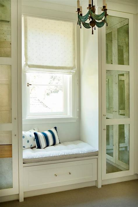 Closet Window by Closet Window Seat With Barrel Ceiling Design Ideas