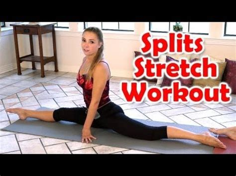 tutorial yoga principiantes 12 minute splits stretch flexibility workout for beginners