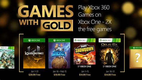 full free games xbox one print news free xbox one 360 games for january 2016