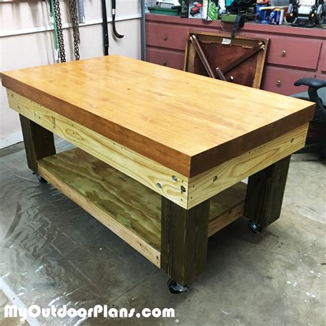 heavy duty work bench plans diy heavy duty workbench myoutdoorplans free