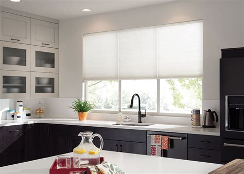 Kitchen Shades by Kitchen Curtains Kitchen Window Treatments Budget Blinds