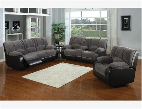 Leather Sofa And Loveseat Recliner Jagger Gray Reclining Sofa Loveseat Console Recliner
