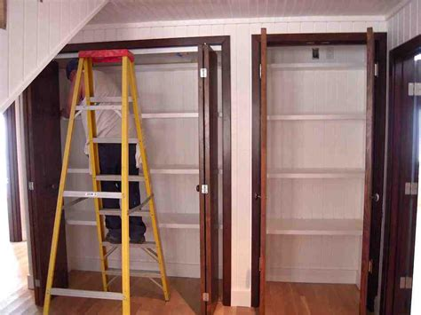 Closet Doors Hardware Folding Closet Doors Hardware Shop The Hillman 5 Bifold Closet Door Hardware Kit At Lowes