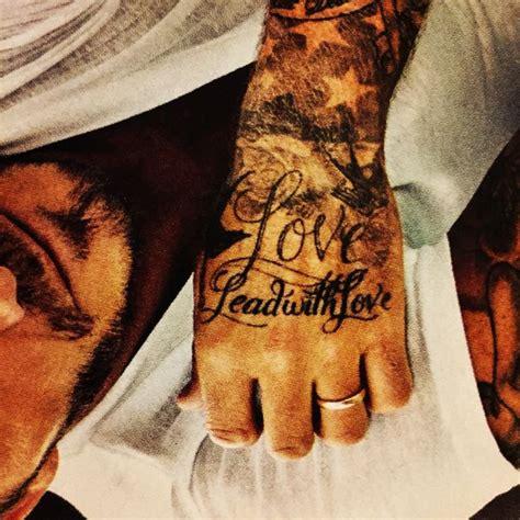 david beckham tattoo kreuz die besten 25 tattoo beckham ideen auf pinterest david