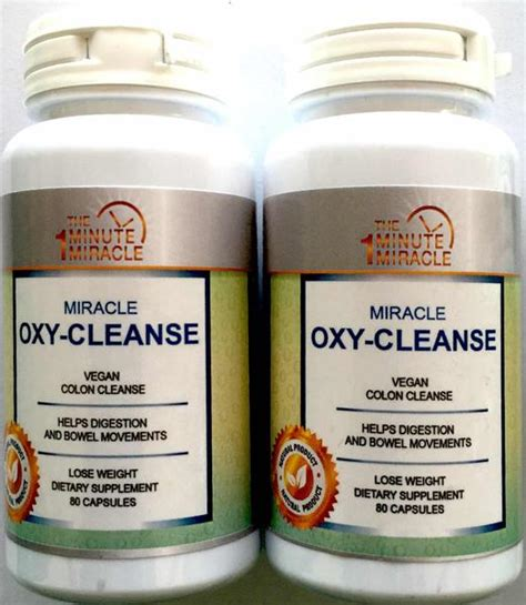 Will Hydrogen Persoxide Cause A Detox Crisis by Miracle Oxy Cleanse Vegan Colon Cleanser 2 Bottles