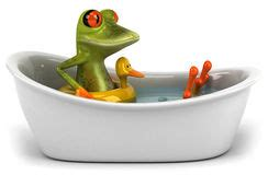 Frog In Bathroom by Frog On Bath Royalty Free Stock Photos Image 10983568