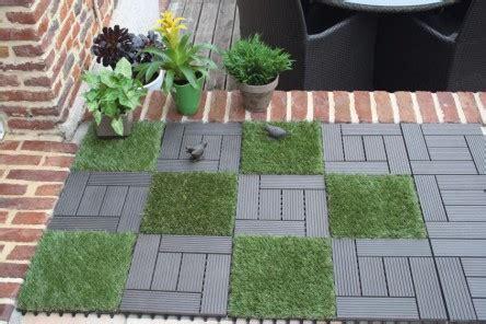 les dalles clipsables pour le jardin