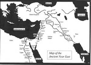 Ancient Near East Map Outline by Index Of Ancient Maps