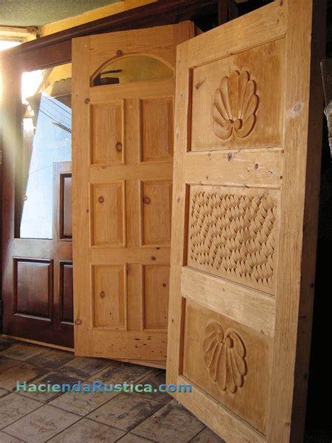 mexican door manufacturer hacienda doors  solid wood