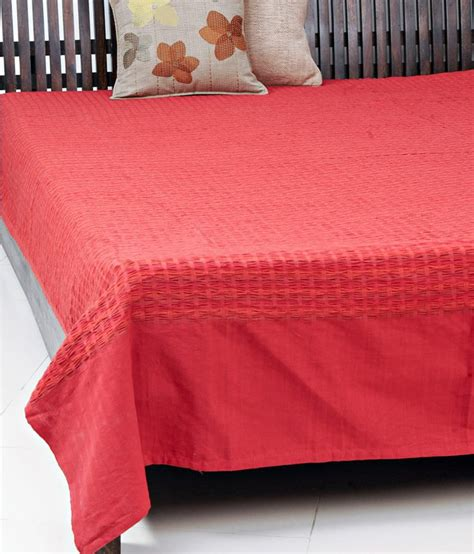 Bed Covers For Single Beds Fabindia Plain Single Bed Cover Buy Fabindia