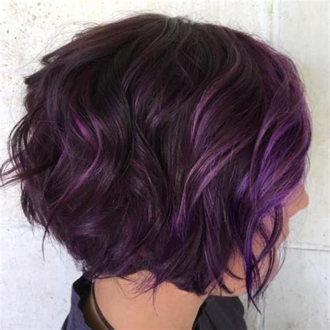 image result for hair purple highlights hair purple highlights hair