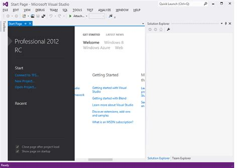 layout menu visual studio 2010 programming for office 2010 on windows 8 with visual