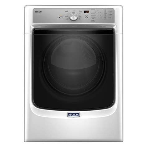 steam dryer static maytag 7 4 cu ft gas dryer with steam in white mgd5500fw