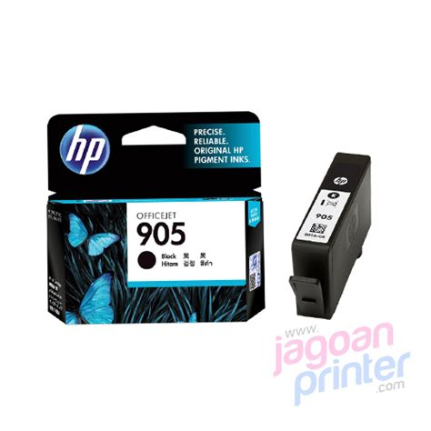 Tinta Printer Hp Perbotol Jual Hp 905 Black Original Ink Cartridge Murah Garansi