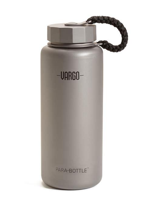 vargo outdoors titanium decagon stove titanium para bottle ultimate backcountry water bottle