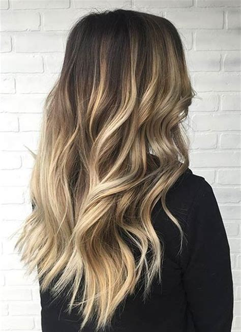 balayage dark brown hair with blonde highlights 31 stunning blonde balayage looks stayglam