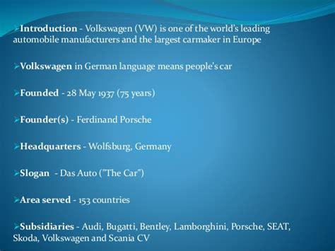volkswagens marketing strategy  india