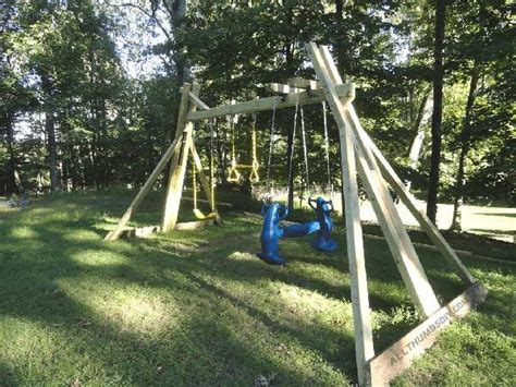 swing set plans 34 free diy swing set plans for your backyard