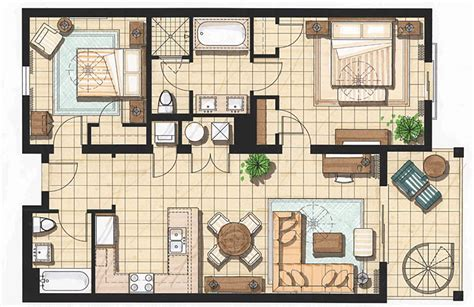 studio pool house floor plans viewing gallery 2 bedroom accommodations in key west key west hotel suites