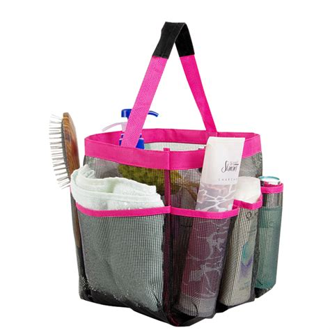 Basket Shower Tote by Mesh Shower Tote Caddy Baskets Hanging