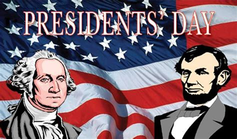 day george presidents day george washington and abraham lincoln with