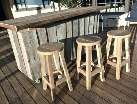 Wooden Patio Table And Chairs Outdoor Wood Bar Table Bar 3 Wooden Outdoor Bar Table And Chairs Enzobrera