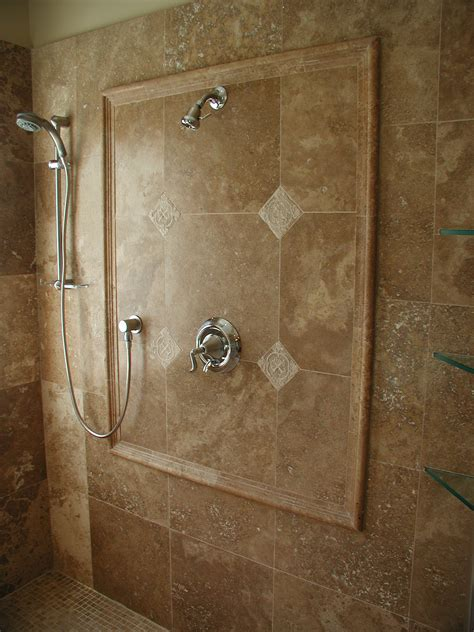 travertine shower travertine bathroom the house decorating