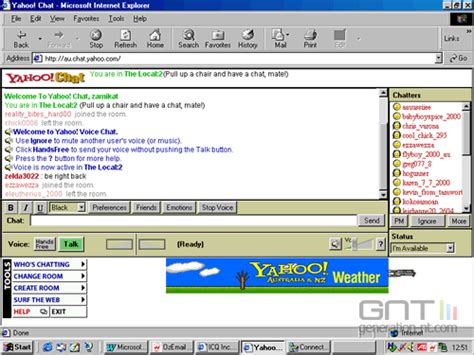 Zoom Chat Rooms by Yahoo Chat Room