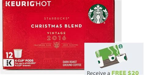 Free Starbucks Gift Card Code 2016 - coupons and freebies 48 ct starbucks christmas blend