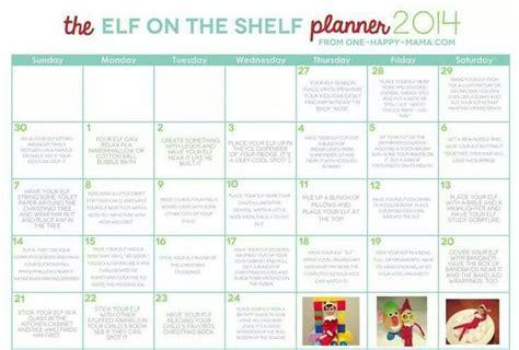 printable elf on the shelf planner elf on thw shelf planner 2014 merry christmas
