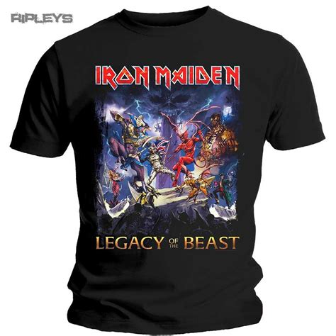 T Shirt The Iron official t shirt iron maiden legacy of the beast