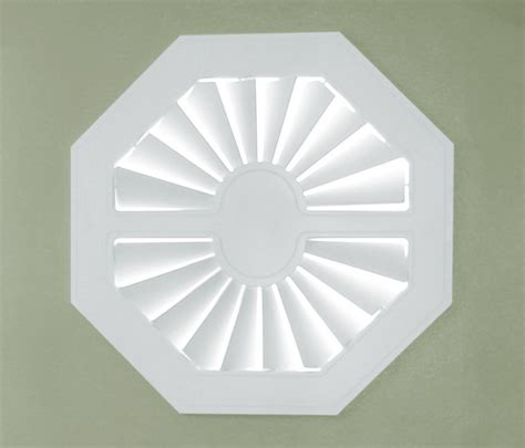 octagon window coverings specialty window shutters sunburst shutters