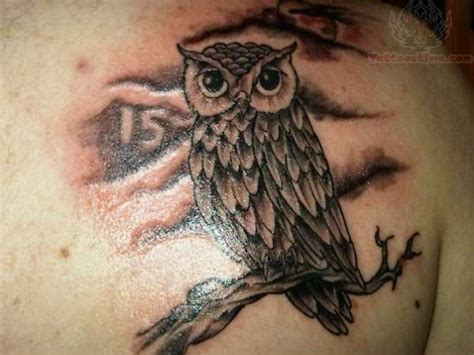 nite owl tattoo owl back on jeff gogue owl tattoos and