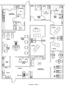 Floor Plan Of A Salon by Salon Amp Spa Floor Plan Design Layout 3105 Square Foot