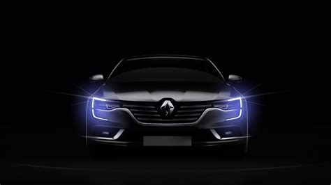 lada frontale led 2016 renault talisman front with led drls on unveiled