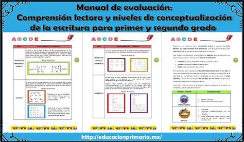manual de percepciones cjf 2017 manual de evaluaci 243 n comprensi 243 n lectora y niveles de