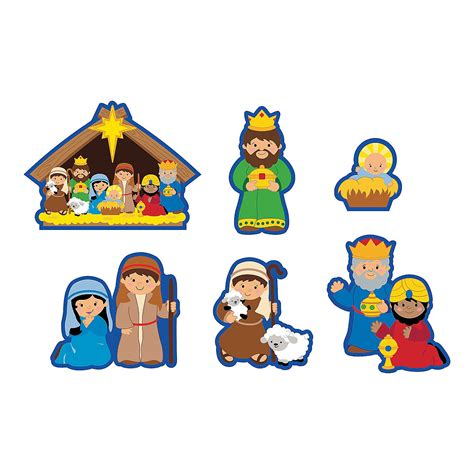 printable nativity scene cutouts nativity scene patterns cut outs search results