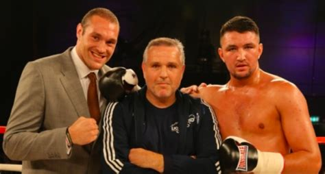 estranged hughie fury reveals he�s not on talking terms