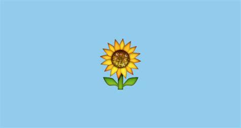 sunflower emoji  apple ios
