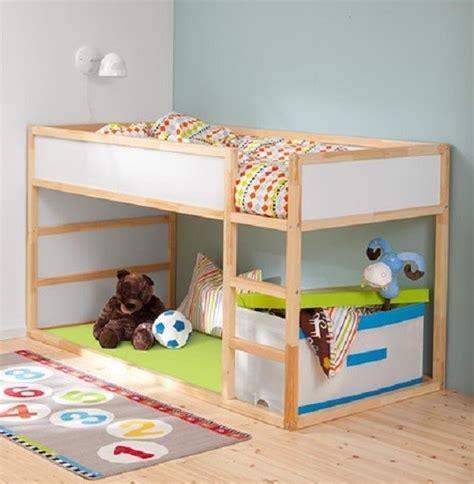 chambre d enfant lit r 233 versible kura par ikea
