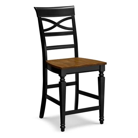 black counter height bar stools furniture dark black wooden counter height bar stools for