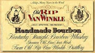 Rip Winkle Handmade Bourbon - 2008 rip winkle handmade 10 year kentucky
