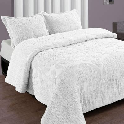 white coverlet twin ashton bedspread twin white linens4less com