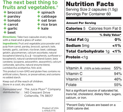 nutrition label template excel professional sles