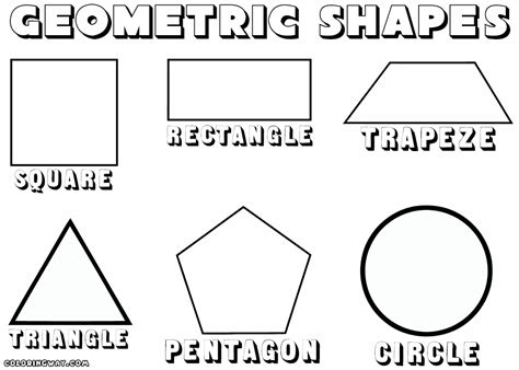 shapes coloring pages geometric shapes coloring pages coloring pages to
